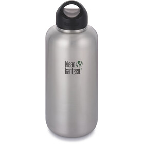 Klean Kanteen Wide Gourde avec couvercle boucle 1182ml, brushed stainless